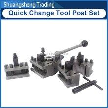 Zestaw narzędzi do szybkiej wymiany tokarki WM210V i WM180V i 0618 12x12mm reszta narzędzi do huśtawki nad łóżkiem 120 220mm
