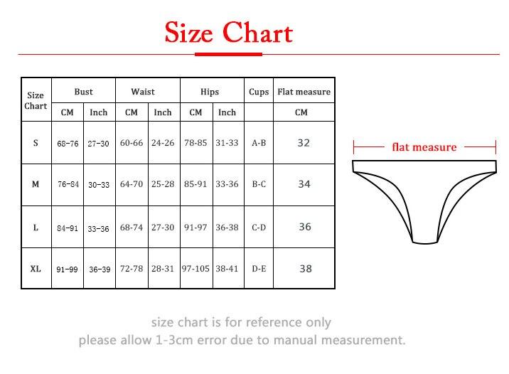 B3384 size chart