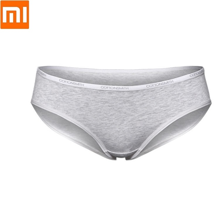 Xiaomi New Comfortable Women Underwear Miniature Window Dry Ladies Panties Quickly Wicking Dry Cotton Briefs