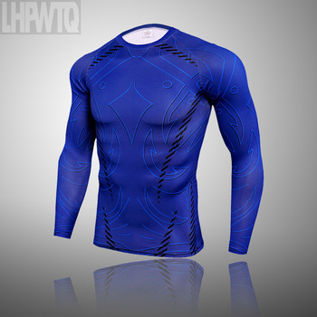 3-piece sets Compression Suits Men's Quick Dry set Clothes Sport Running MMA jogging Gym work out Fitness Tracksuit clothing 24