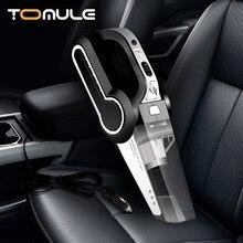 Aspirateur de voiture Portable Portable aspirateur automatique gonflable multifonction surveillance de la pression des pneus LED lumières voiture/maison