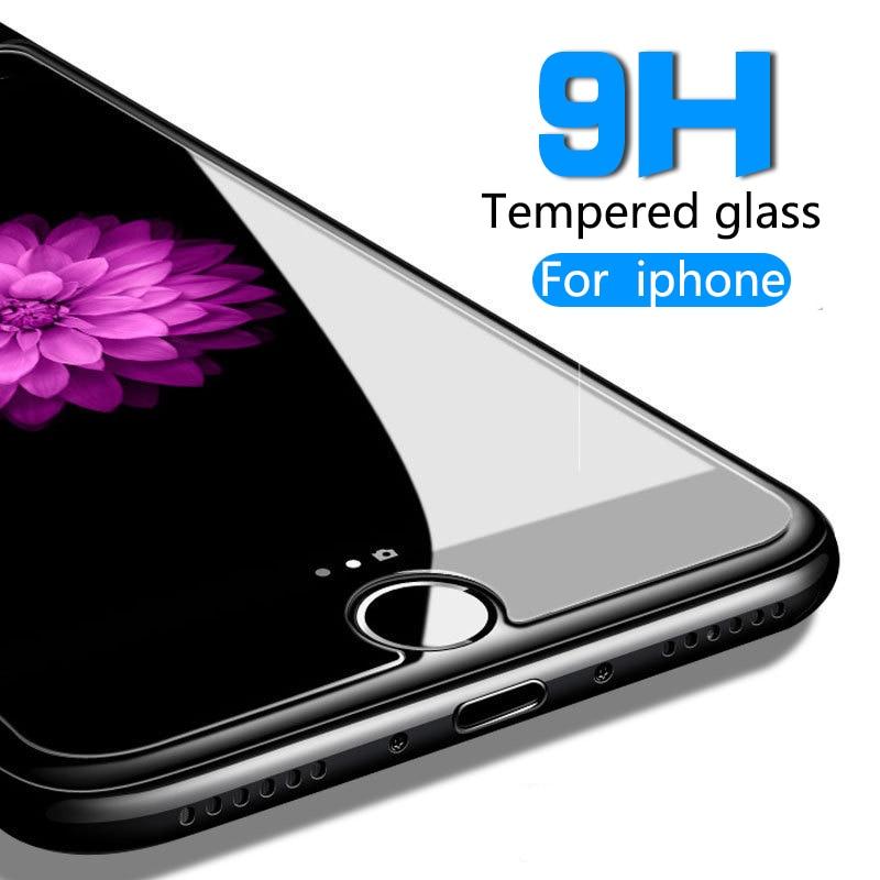 Защитно стъкло на iPhone4 5s 6 7 8Plus X Ултра тънък протектор за екран от закалено стъкло за iPhone XR XS MAX