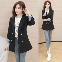 Fashion Spring Autumn Women Blazers and Jackets Work Office Lady Suit Slim Double Breasted Business Female Blazer Coat