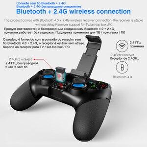 Image 4 - Manette de jeu Pubg Contrôleur Mobile Joystick Pour Téléphone Android iPhone PC Boîte de TÉLÉVISION Intelligente Bluetooth Déclencheur Console De Jeu pabg Contrôle