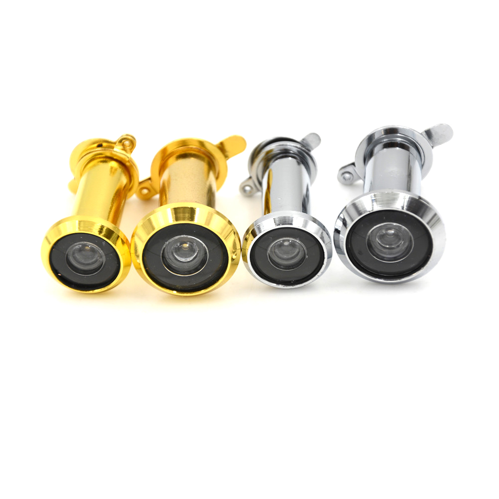 Hole Wide Viewing Angle Peephole Hidden Peephole Adjustable Glass Lens Hardware Security Tools 180 Degrees Door Viewers