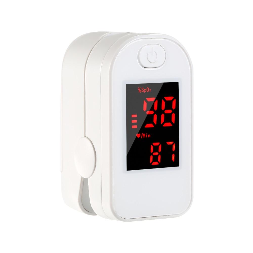 ポータブル指先型オキシメータ - LEDディスプレイ付き血中酸素モニター