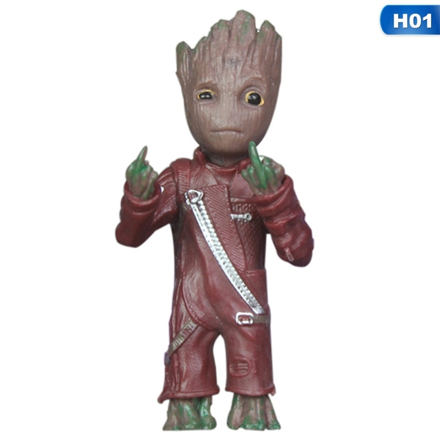 Baby Groot Keychains Guardians of The Galaxy 6