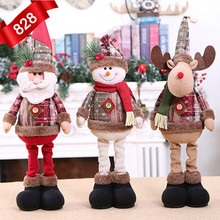 2020 NEW 24 Styles Christmas Decorations Dolls Tree Innovative Elk Santa Snowman