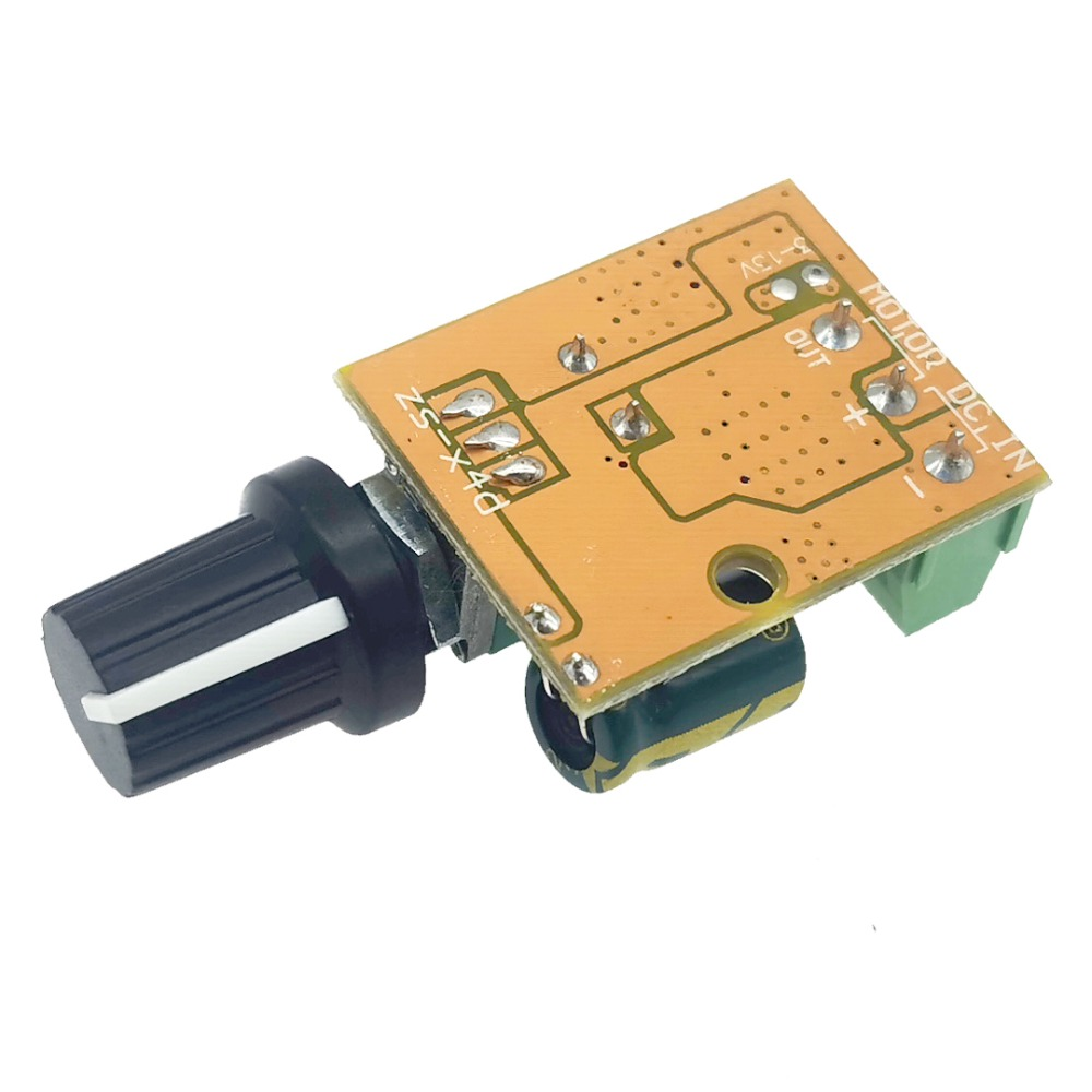 Mini DC Motor PWM Speed Controller 3V-30V Speed Controller Switch LED Dimmer 6A