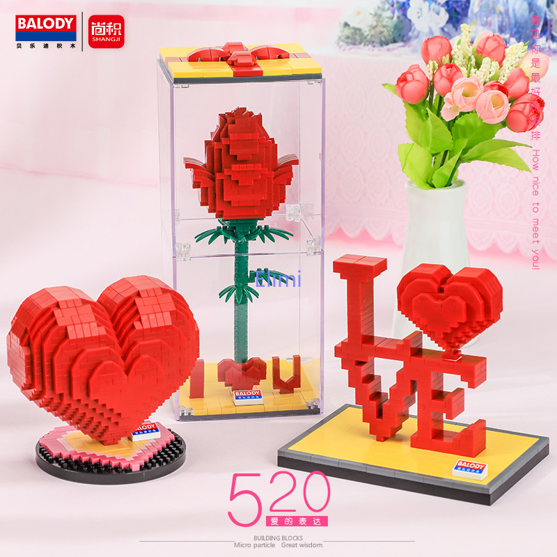 Balody мини-конструктор «день любви», Роза
