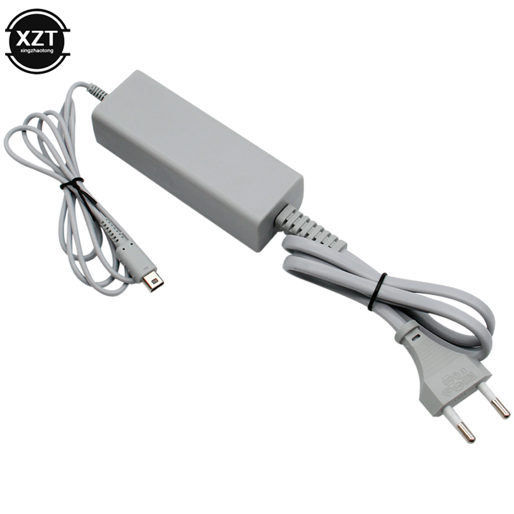 AC Charger Adapter for Nintendo Wii U Gamepad Controller Joystick US/EU Plug 100-240V Home Wall Power Supply for WiiU Pad 4