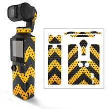 Décalcomanies de peau dautocollant de la caméra 3M de cardan de poche pour des accessoires dappareil photo de poche de paume de FIMI