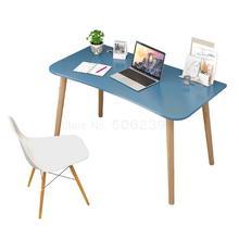 Настольный компьютер простой твердый деревянный стол простой современный ученик начальной школы письменный стол спальни столы и стулья