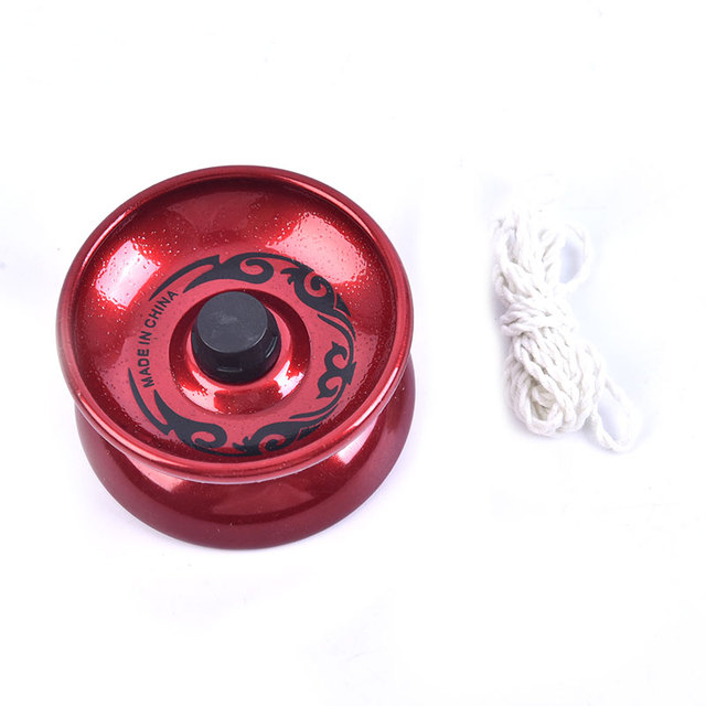 1Pc Professional YoYo Aluminum Alloy String Trick Yo-Yo Ball Bearing for Beginner Adult Kids Classic fashion interesting Toy