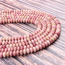 Natural Mahogany Gem 5x8x4x6MM Abacus Bead Spacer Bead Wheel Bead Accessory For Jewelry Making Diy Bracelet Necklace