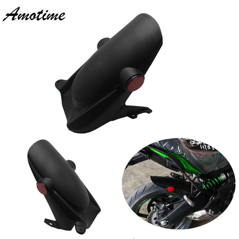 For KAWASAKI VERSYS650 VERSYS 650 KLE650 2008-2017 KLE 650 Motorcycle Rear Hugger Fender Mudguard