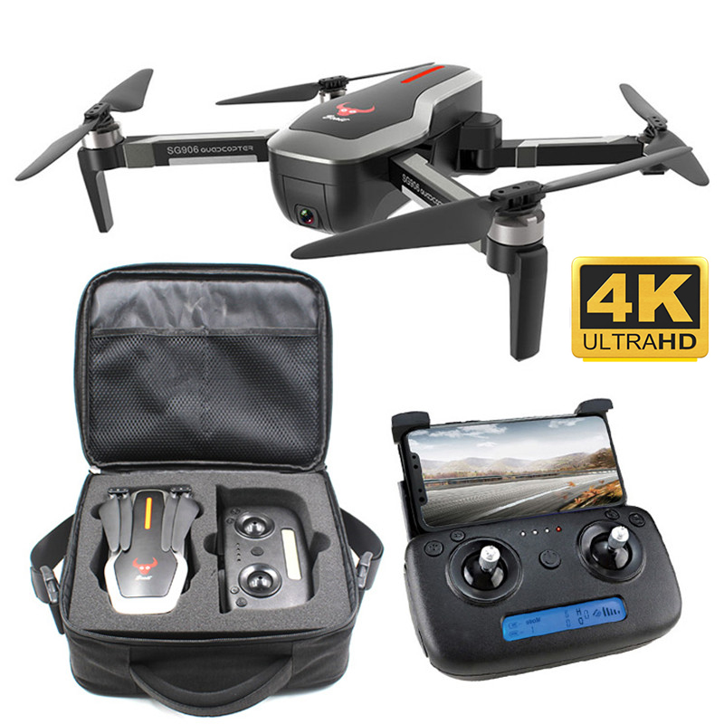 SG906 GPS Drone 4K With Camera HD 5G WIFI FPV Brushless Quadcopter Foldable Professional RC Helicopter Racing Dron Follow Me RTF