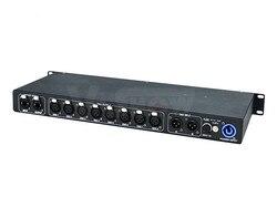8 univers ArtNet DMX LED de contrôle; signal d'entrée: Art-net, entrée DMX A + B; canal DMX: 8X512 canaux = 4096 canaux