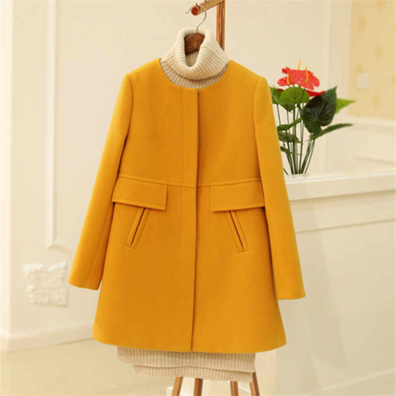 Winter Woolen Down Jackets Coats Clothes For Pregnant Women  Pregnancy Windbreaker Warm Overcoat Pregnancy Outwear Clothing
