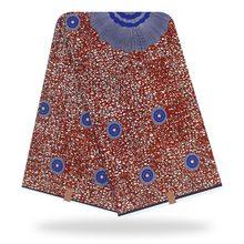 голландский восковой печать ткань картины Африка полиэстер Анкара африканского воска печати батик ткань Z705
