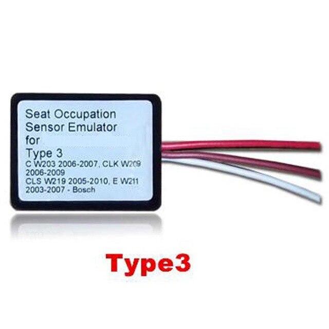 Nieuwe Srs Emulator Type 3 Seat Emulator Airbag Reset Tool Voor Mb C W203 Clk W209 Cls W219 E W211