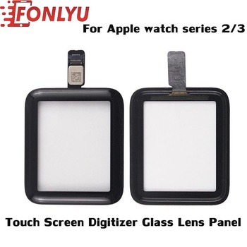 100% Brand New Digitizer Screen Panel For Apple Watch Series 2/3 38mm/42mm Front Display Glass wrong/damaged Replacement Repair image