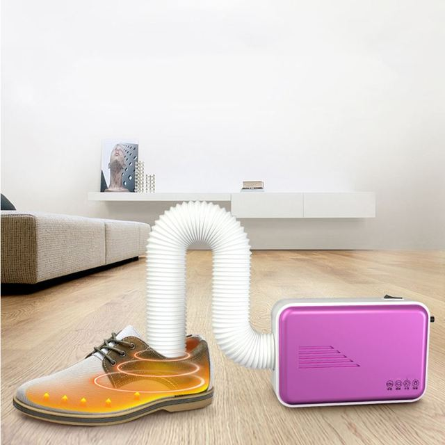 Rotating Portable Electric Clothes Shoe Dryer Fan Heater Bed Warmer Garment Mites Killer One Multi-purpose for Home