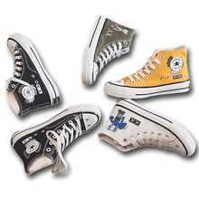 Women Shoes Canvas Shoes High Sneakers L