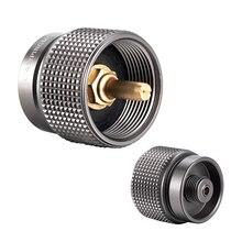 LPG канистра конвертер 1Л переходник для пропана маленький бак вход EN417 Lindal клапан Выход Открытый Кемпинг плита адаптер