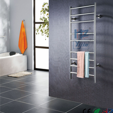 Free shipping Stainless steel 304 wall mounted Polish heated towel rail towel warmer Bathroom Towel Holder HZ-927A
