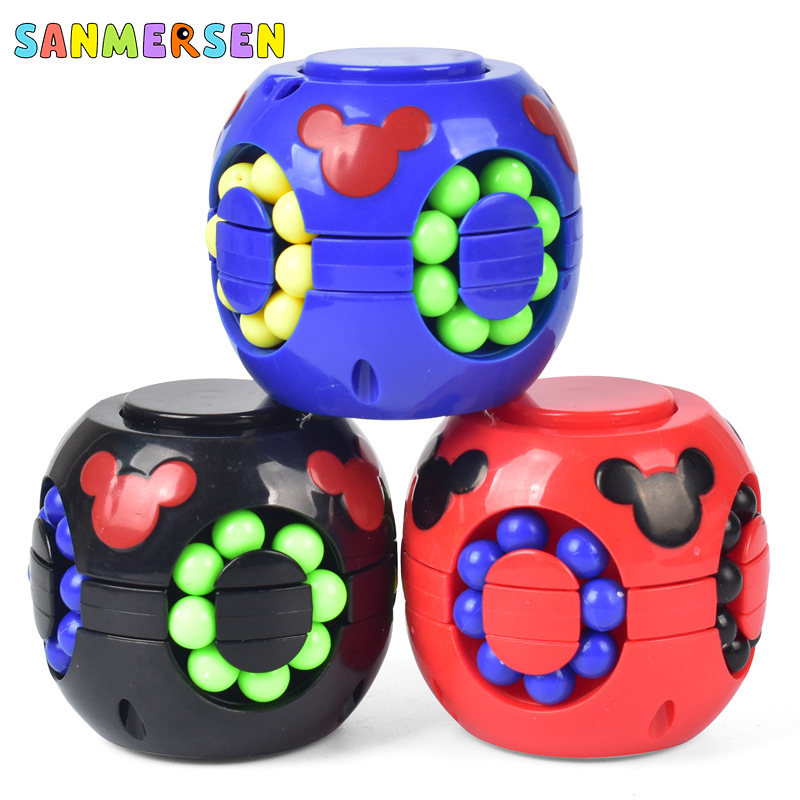 Spinning Top Whistle Gyro Toys Multifunctional Novelty Antistress for Hands Magic Cube Decompression Fidget Spinner Kids Toys