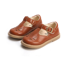 Bakkotie; сезон весна; Новинка; туфли принцессы Mary Jane на плоской подошве с вырезами; милые мягкие туфли для маленьких девочек; модные модельные туфли-оксфорды из лакированной кожи