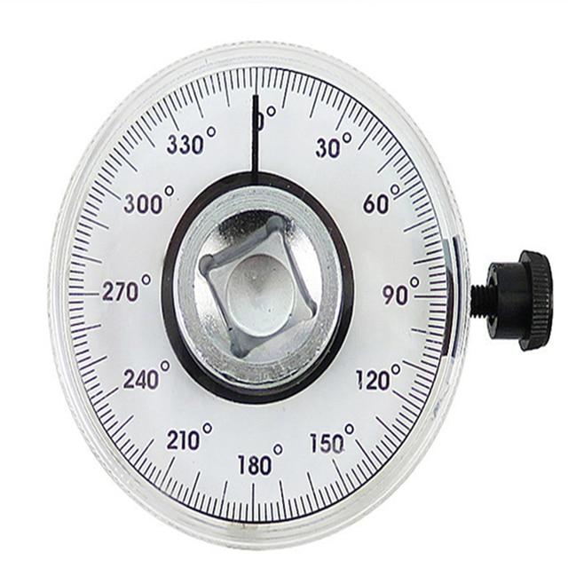 1 قطع وجع تعديل 1/2 بوصة محرك عزم الدوران زاوية مقياس السيارات السيارات المرآب أداة مجموعة