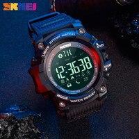 SKMEI Military Sport uomo Smartwatch promemoria chiamate pedometri Smart Watch uomo impermeabile compatibile Bluetooth per Android IOS