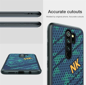 Image 4 - כיסוי עבור Xiaomi Redmi הערה Note 8 Pro פרו מקרה NILLKIN חלוץ מקרה 3D מרקם TPU סיליקון רכות חזרה כיסוי עבור Xiaomi redmi Note8
