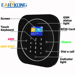 Image 4 - Tuya APP Smart WiFi GSM Home Security GSM Alarm System 433MHz Detectors Alarm Compatible With Alexa Google Home IFTTT Tuya APP