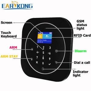 Image 4 - Tuya sistema de alarma de seguridad GSM para el hogar, sistema de alarma inteligente GSM de 433MHz, detectores de alarma compatibles con Alexa, Google Home, IFTTT, Tuya APP