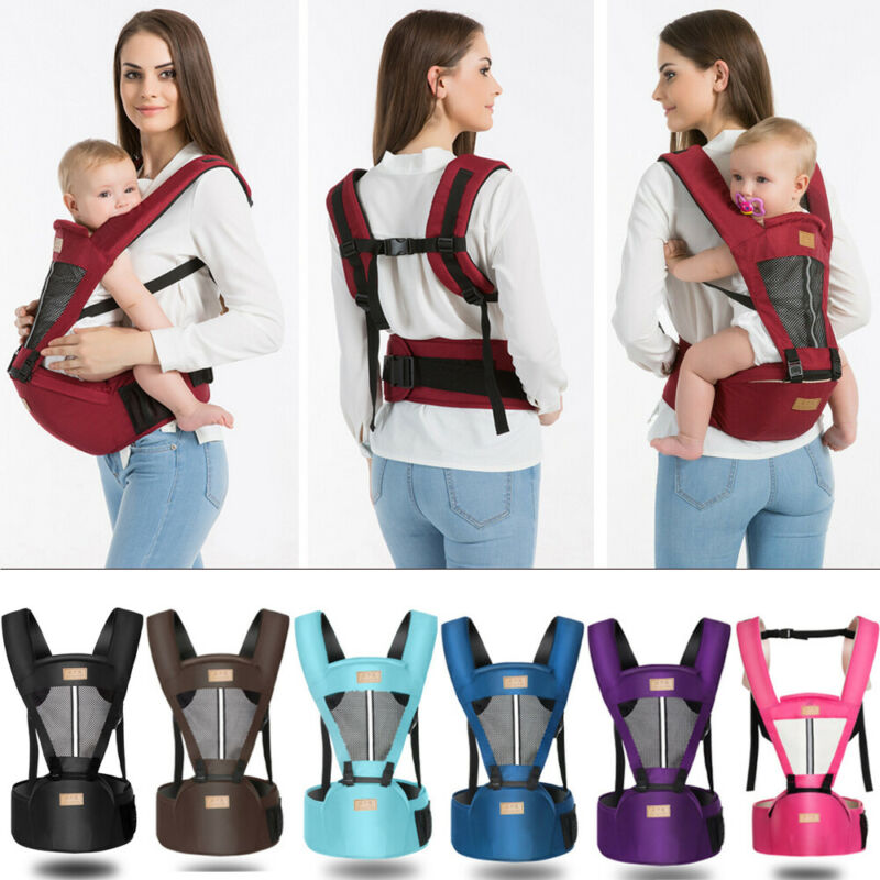 Kids Baby Carrier With Hip Seat Removable Multifunctional Waist Support Stool Strap