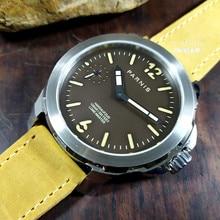 Top Brand Sapphire Men Mechanical Watches Engineer Original Seagull ST36 Hand Wi