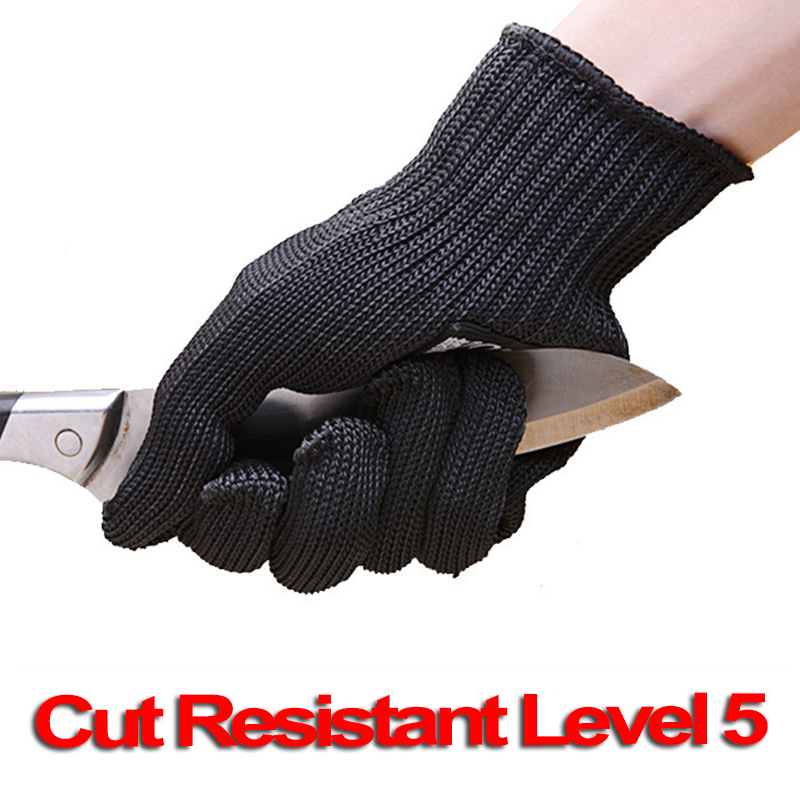 Anti-Cut-Gloves Wire-Mesh Gants Self-Defense-Supplies Cut-Resistant EN388 Stainless-Steel