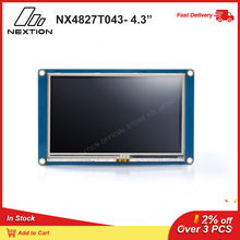 Nextion – Module écran tactile LCD TFT, écran tactile résistif Intelligent, 4.3 pouces, 480x272