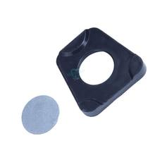 50 قطعة مواد مختبر الأسنان قطعة من البلاستيك قطعة معدنية المناسب على نموذج Amann Girrbach المفصلي
