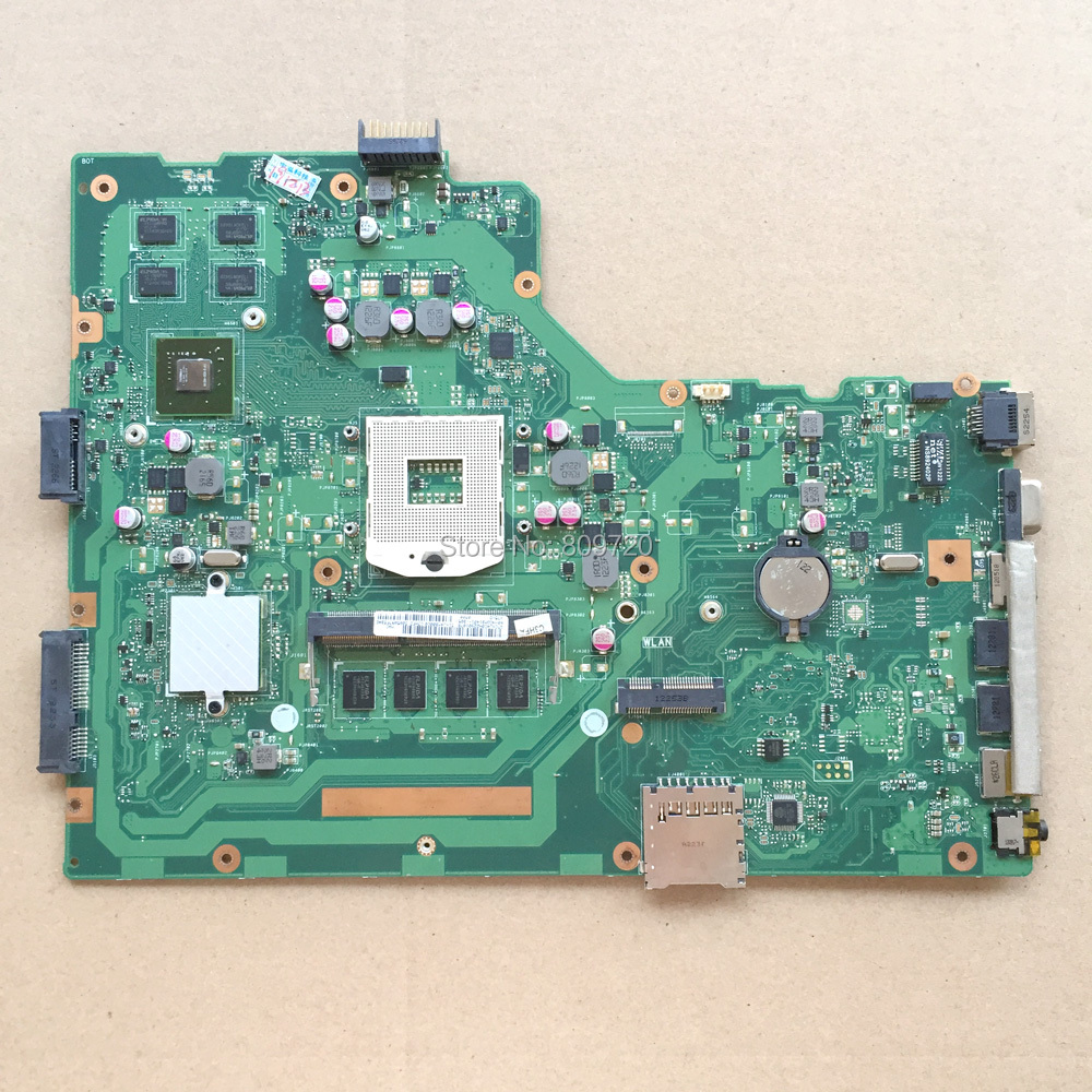 Laptop Motherboard X75VD REV 2.0 X75VB X75VC socket989 DDR3 GT610M For Asus <font><b>i5</b></font>-<font><b>3230M</b></font> image