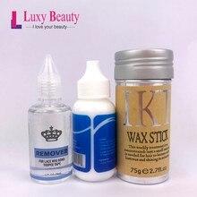Super cola de renda para peruca, cola adesiva para cabelo de 38ml + removedor de 30ml + ultra hold ot2b kits de peruca de gel para a fita toupee sistema frontal
