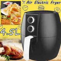4.5L 1350W 220V Oil free Air Fryer Health Fryer Cooker Airfryer Pizza Multi function Smart Fryer for French fries No lampblack