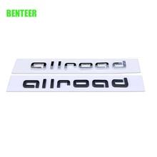 Allroad Car Rear Sticker For Audi A1 A3 A4 A4L A6 A6L A7 A8 Q3 Q5 Q7 TTS  Sline