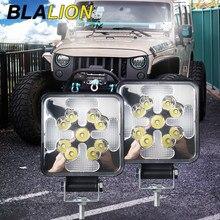 12V Led Bar Offroad Car Led Working Light Driving Lamp Spotlight Flood Dynamic Beam Flashing Truck SUV ATV UTV Boat Car Fog Lamp
