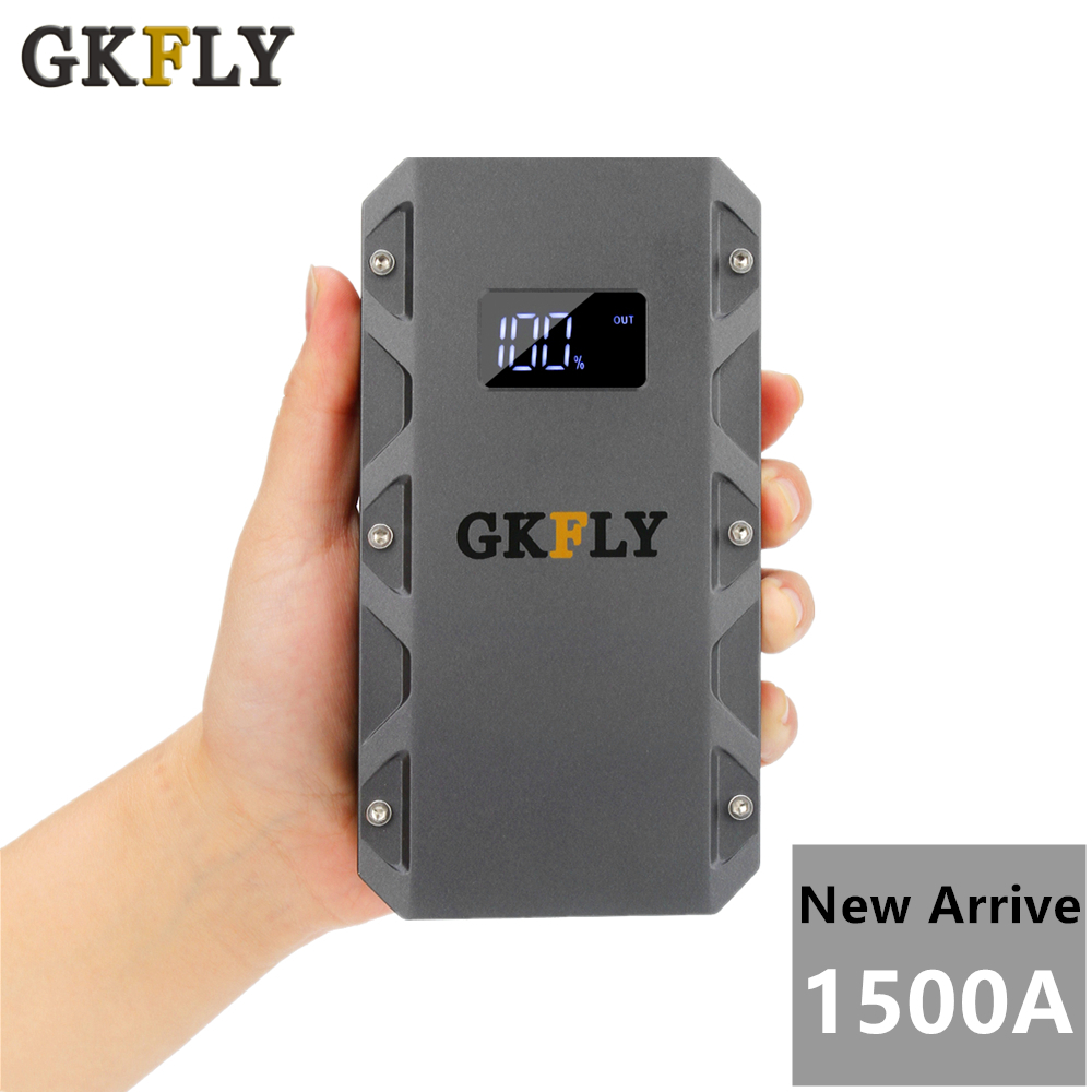 High Capacity Car Jump Starter 12V 1500A Portable Power Bank Emergency Car Booster Battery Starting Device Petorl Diesel Auto