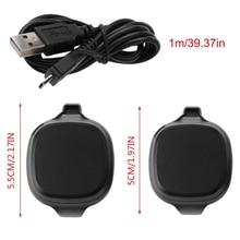 USB Charger Dock Station Cradle CABLE สำหรับ Garmin Forerunner 10/15 GPS นาฬิกา LX9B