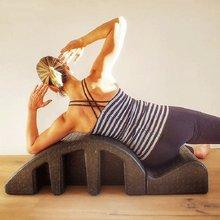 Yoga arco flexão cervical vértebra equipamentos de fitness pe s-curva forma espinha corrector fitness pilates yoga formação acessórios